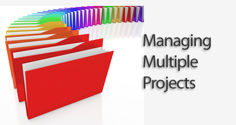 managing multiple projects When managing multiple projects, integrating your project schedules to ensure that different phases of different projects can be executed in harmony at the same time.